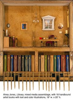 """Library"" By Alvey Jones, $3600"