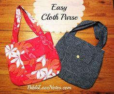 Sewing a purse from Hawaiian material Cute fabric purse...