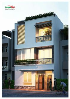 Marla Modern Architecture House Plan Corner Plot Home Design