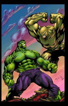 Hulk Vs. Abomination