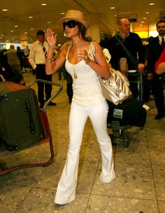 Airport Chic Style Cheryl Cole