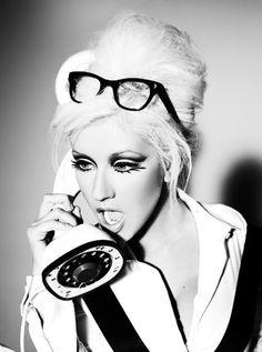 Christina Aguilera by Unwerth