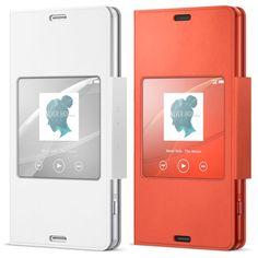 Funda original Sony Xperia Z3 compact con ventana inteligente por 8,95€!! https://moviliario.es #sonyz3compact