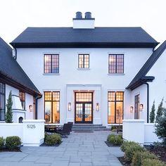 Future House, My House, Halls, House Goals, Home Fashion, Exterior Design, Modern Exterior, Home Styles Exterior, My Dream Home