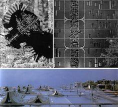 Kenzo Tange. Tokyo plan.