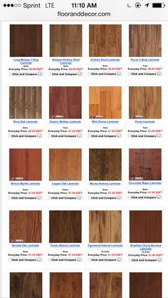 A great selection of beautful and affordable laminate flooring products from Floor & Decor.