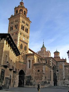 Catedral de Santa María de Mediavilla de Teruel,  dedicada a la Virgen de la Asunción, de estilo mudéjar