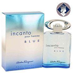 Salvatore Ferragamo Incanto Pour Homme Blue 100ml/3.4oz Eau De Toilette Spray: Salvatore Ferragamo Incanto Pour Homme Blue eau de toilette…