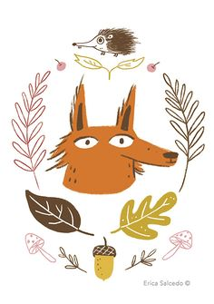Woodland Greeting cards - Erica Salcedo Illustration potfolio