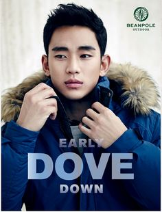 "literallyadramaqueen: "" KIM SOO HYUN ready for the outdoors Beanpole F/W 2015 "" South Corea, Cute Asian Guys, New Actors, Asian Hair, Male Beauty, Haircuts For Men, Cut And Style, Asian Men, Korean Actors"