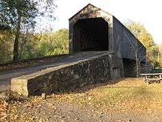 Bucks County, Pennsylvania - Bucks County is home to a number of covered bridges, 10 of which are still open to highway traffic and two others (situated in parks) are open to non-vehicular traffic. Old Bridges, Bucks County, Ford, Old Barns, Covered Bridges, State Parks, Places To See, Around The Worlds, Country Roads