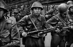 Prague Invasion of 1968 by Josef Koudelka Marie Curie, Steve Jobs, Prague Spring, Warsaw Pact, Visit Prague, Prague Czech Republic, Berlin Wall, Political Events, My Heritage