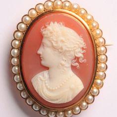 Vintage Jewelry, Profile, Paris, Jewels, Woman, Watch, Chain, Antiques, Pink