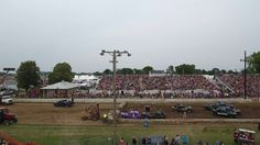 Wisconsin Event:  Aerial Action Video of the Full Size Cars Demo Derby at the Dodge County Fair