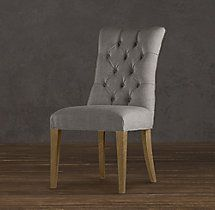 Martine Tufted Fabric Side Chair