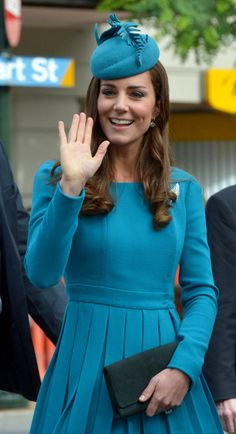 Newmyroyals & Hollywood Fashion: The Duke and Duchess of Cambridge Tour Australia And New Zealand - Day 7