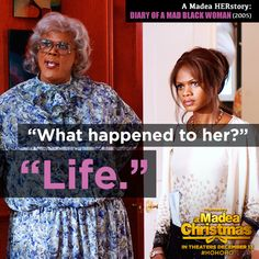 When time hasn't been so kind to some of your relatives, rely on Madea's HERstory.  A Madea Christmas - December 13th #HoHoHo