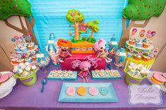 Lalaloopsy Pool Party | CatchMyParty.com