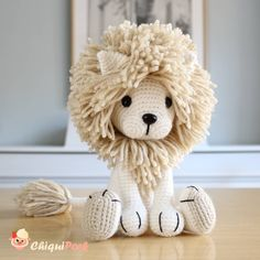 Hi there! It's been a while since the last lion available in my shop was adopted so.. I've made this white version of Tyrion the lion …