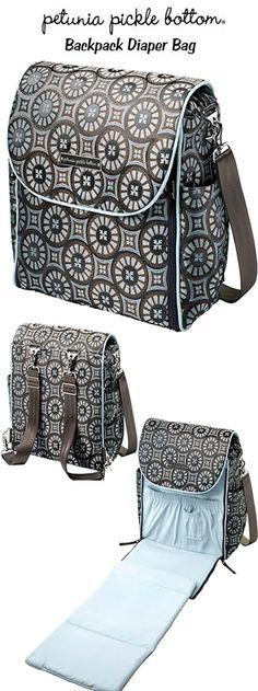 Petunia Picklebottom Back Pack Diaper Bag