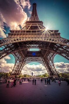 Eiffel Tower, Paris, France ❤️❤️❤️❤️❤️❤️❤️