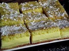 Csak a saját felelősségedre süsd meg, mert hamar a rabja lehetsz! Hungarian Desserts, Hungarian Recipes, Pie Dessert, Dessert Recipes, Sweet Cooking, Czech Recipes, Romanian Food, Something Sweet, Cakes And More