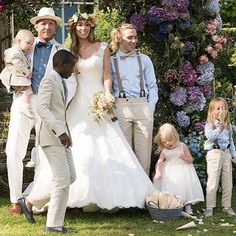 Gorgeous Pictures From Guy Ritchie's Star-Studded Wedding