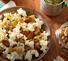 Incorporate popcorn into your healthy recipes!