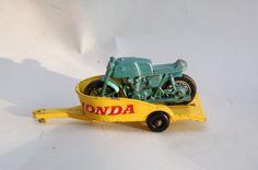 Vintage Matchbox Lesney Diecast car 38C Honda by RememberWhenToys, $24.00