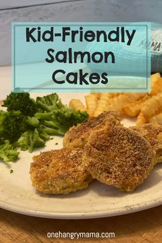 Ritz Cracker Salmon Cakes are one of my go-to weeknight meals – fast, easy, and the kids love them! Pan Fried Salmon, Can Salmon, Saffron Rice, Salmon Cakes, Salmon Patties, Ritz Crackers, All Vegetables, Batch Cooking, Italian Seasoning