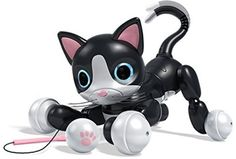 Zoomer Kitty Interactive Cat Kids Toy Pet Robot Kitten Cuddle Black Gift New | Toys & Hobbies, Electronic, Battery & Wind-Up, Electronic & Interactive | eBay!