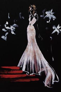 Cut-Out Fashion Illustrations : Shamekh Al-Bluwi
