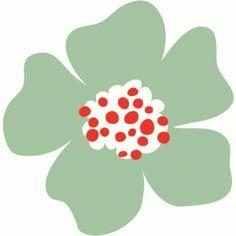 Silhouette Design Store - View Design #76954: flower