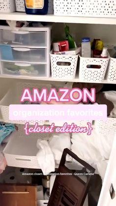 Small Closet Organization, Clutter Organization, Home Organization Hacks, Bathroom Organization, Best Amazon Buys, Best Amazon Products, Amazon Home Decor, Staying Organized, Home Decor Accessories