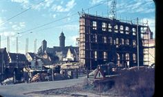 Downtown Nuremberg Germany 1955