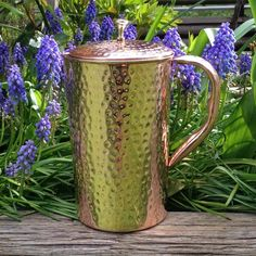 Shantiva the best copper pitcher for alkalizing water.
