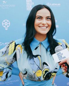 Actress Camila Mendes arrives at Rising Star Showcase at Materra Celebrity Film, Celebrity Crush, Archie Comics, Lili Reinhart, Beautiful Celebrities, Beautiful People, Camila Mendes Veronica Lodge, Camilla Mendes, Riverdale Cast
