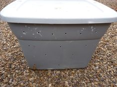 DIY and Tips on how to make your own compost bin. Great idea for those with limited yard space.