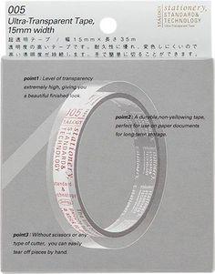 STALOGY – Stationery, Standard & Technology | 超透明テープ