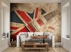 ohpopsi Great British Union Jack Rock Guitar Grunge Wall Mural ohpopsi http://www.amazon.co.uk/dp/B00UYRDSEY/ref=cm_sw_r_pi_dp_Jwttvb16JAHSH