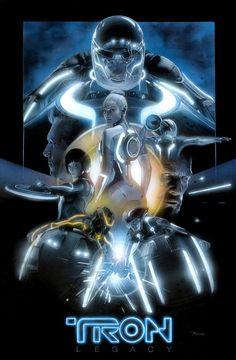 Sci-Fi,art,арт,красивые картинки,Tron,Трон (фильм),фильмы