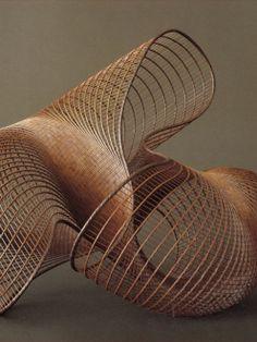 bamboo sculpture by Syoryu Honda