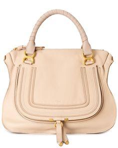 """Chloe """"Marcie"""" Large Leather Shoulder Bag  $1,499.99 $2,050.00"""