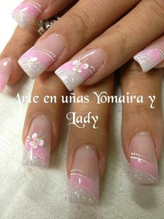Nail art begun in historical Babylonia, when males made use of to color their nails to Show their social position. Cute Acrylic Nails, Cute Nails, Pretty Nails, Manicure, Diy Nails, Elegant Nail Designs, Nail Art Designs, Spring Nails, Summer Nails