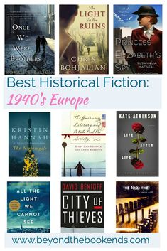 Little Library: Best Historical Fiction Books About 1940's Europe - Beyond the Bookends