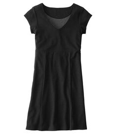 Cap Sleeve Tomboy V-Neck Dress - can you say travel?  Most people think traveling in a dress would be a disaster....well not in this dress!  Fabric that is soft, breathable, and does not wrinkle!  You'll be the cutest woman on the plane