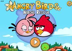 Ayuda en este juego a los angry birds ya que su novia esta en peligro por los malvados cochinitos, con el mouse lánzalo para golpearlo y ganar el juego, cada nivel hay mas y trata de no desperdiciar muchos lanzamientos