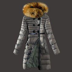 Moncler Jacket Women Grey jacketsdeal.co.uk...