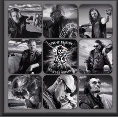 Sons of Anarchy!  Jax Clay Tig Piney Bobby Chib Juice Opie Love love love love!!