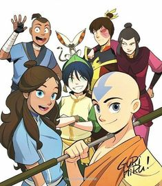 I always liked Avatar a ton but when Legend of Korra came it got really weird. Avatar The Last Airbender Funny, The Last Avatar, Avatar Airbender, Korra Avatar, Team Avatar, Avatar Characters, Avatar Series, Iroh, Azula